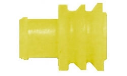 Passe-fil étanche Jaune pour connecteurs - 1