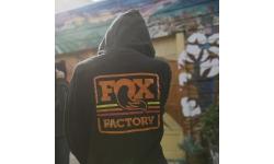 Sweatshirt zippé FOX SIGNATURE