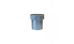 Bouchon alu à souder 50 mm - 1