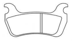 Kit plaquettes Racing Etrier 2 pistons ø32 - 1