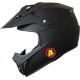 Casque Cross FIA Snell 2015 - 3