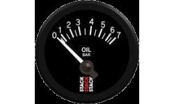 Manomètre Stack Pression d'Huile 0-7 Bars Mécanique - 1