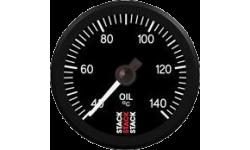 Manomètre Stack Température d'Huile 60-140°C 10x100 Pro Electrique - 1