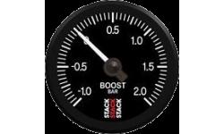 Manomètre Stack Pression Turbo -1/+2 Bars Pro Electrique - 1