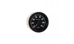 Compte-tours VDO 7000 Trs/Min Diamètre 80 Fond Noir 4 / 6 / 8 Cylindres Diesel / Essence - 1