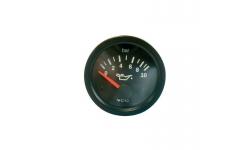 Manomètre VDO Pression Huile 0-10 Bars Diamètre 52 Fond Noir - 1