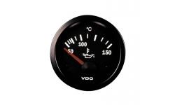 Température d'Huile 150° VDO VISION Diamètre 52mm Fond Noir - 1