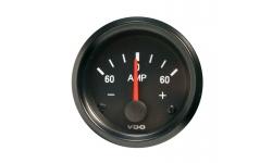 Ampèremètre VDO VISION Fond Noir Diamètre 52mm - 1