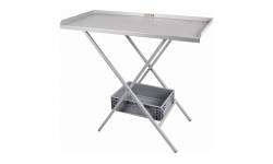 Table acier pliante - 1