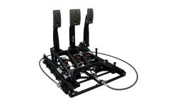 "Pédalier TILTON ""underfoot pedal with slider system"" 3 pédales - 1"