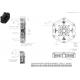 """Mécanisme TILTON céramétallique 7.25"""" OT-II (utilisation montage couronne de démarreur sur le mécanisme d'embrayage) - 4"""