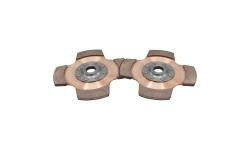 """Disque d'embrayage TILTON 7,25"""" bi-disques pour mécanisme cérametallique - 1"""