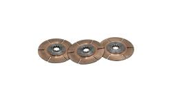 """Disque d'embrayage TILTON 5.5"""" tri-disques pour mécanisme métallique - 1"""