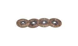 """Disque d'embrayage TILTON 5.5"""" 4 disques pour mécanisme métallique - 1"""