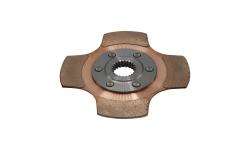 """Disque d'embrayage TILTON 5.5"""" monodisque 4 patins pour mécanisme métallique - 1"""
