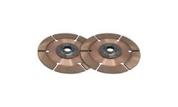 """Disque d'embrayage TILTON 7,25"""" bi-disques pour mécanisme métallique - 1"""