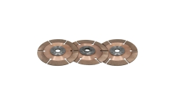 """Disque d'embrayage TILTON 7,25"""" tri-disques pour mécanisme métallique - 1"""