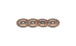 """Disque d'embrayage TILTON 7,25"""" 4 disques pour mécanisme métallique - 1"""