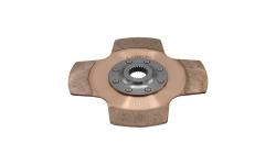 """Disque d'embrayage TILTON 7.25"""" mono-disque 4 patins pour mécanisme métallique - 1"""