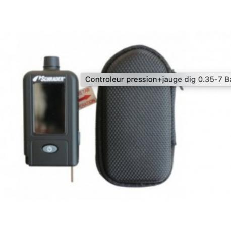 Controleur pression+jauge dig 0.35-7 Bar - 1