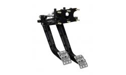 Pédales de frein et d'embrayage Tru-Bar à montage Reverse Swing Wilwood 6,25:1 WILWOOD - 2