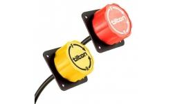 Câble + molette de réglage du répartiteur de frein Tilton
