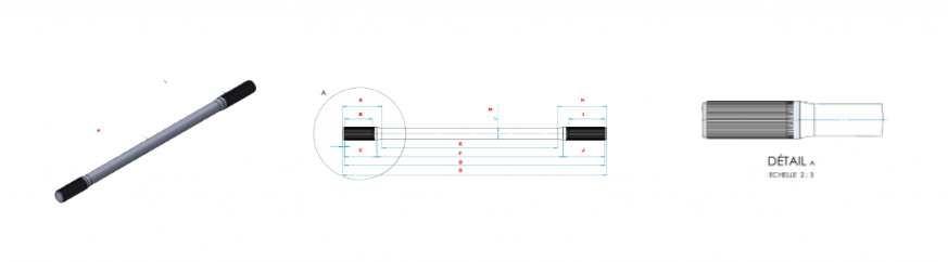 Arbres de transmission sur mesure